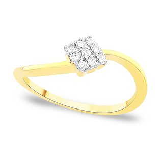 Shuddhi Diamond Ring DDR02936SI-JK18Y