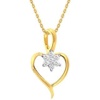 Nakshatra 18K Yellow Gold Diamond Pendant