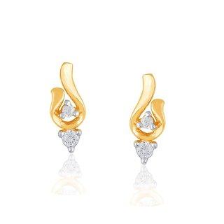 Asmi Diamond Earrings HIE00040SI-JK18Y