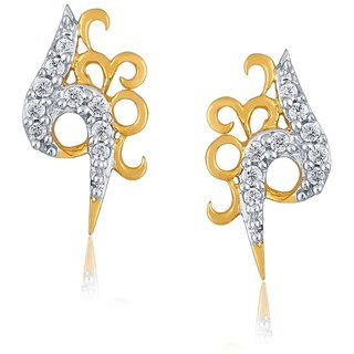 Sangini Diamond Earrings PE13554SI-JK18Y