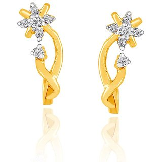 Sangini Diamond Earrings PE14551SI-JK18Y