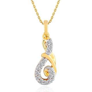Asmi Diamond Pendant PP12052SI-JK18Y