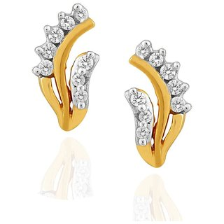 Asmi Diamond Earrings PE13662SI-JK18Y