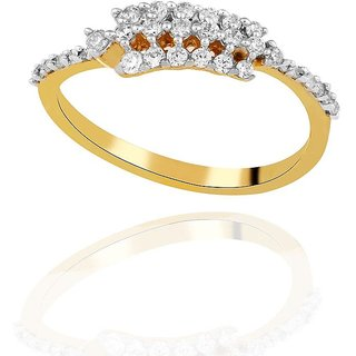 Asmi Diamond Ring AAR003SI-JK18Y