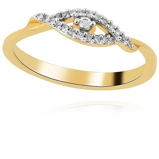 Asmi Diamond Ring AAR377SI-JK18Y