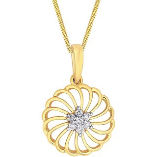 Maya Diamond 18K Yellow Gold Diamond Pendant