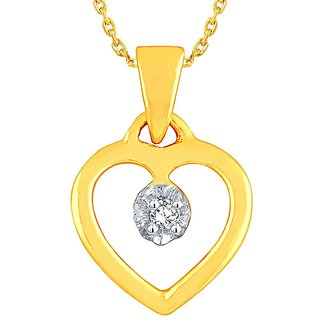 Gili Diamond Pendant MDP00080SI-JK18Y