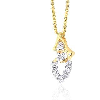Shuddhi Diamond Pendant IDP00361SI-JK18Y