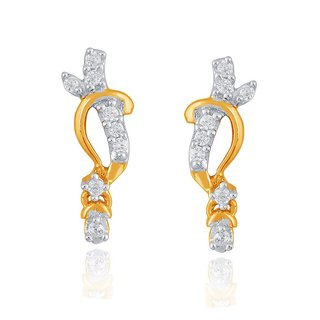Sangini Diamond Earrings PE17784SI-JK18Y