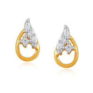 Asmi Diamond Earrings PE18813SI-JK18Y