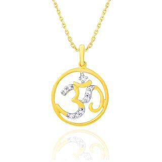 Me-Jewels 18K Yellow Gold Diamond Pendant