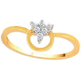 Asmi Diamond Ring ADR00807SI-JK18Y