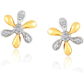 Asmi Diamond Earrings PE18753SI-JK18Y