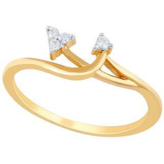 Asmi Diamond Ring PR19424SI-JK18Y