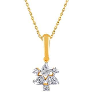 Gili 18K Yellow Gold Diamond Pendant