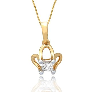 Sangini Diamond Pendant AAP869SI-JK18Y