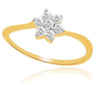 Nakshatra Diamond Ring DDR01180SI-JK18Y