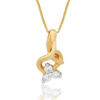 Maya Diamond Diamond Pendant NPC631SI-JK18Y