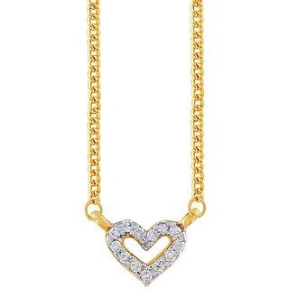 Maya Diamond Diamond Pendant MDP00110SI-JK18Y