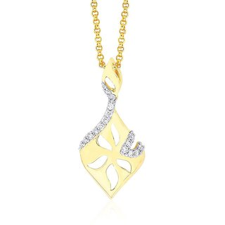 Shuddhi Diamond Pendant DDP02556SI-JK18Y
