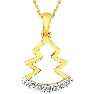 Shuddhi Diamond Pendant DDP02896SI-JK18Y