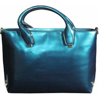 BagsHub Metallic  Blue fashion Bag (B0469-0000300073-V004)