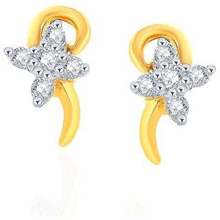 Asmi Diamond Earrings NERC764SI-JK18Y