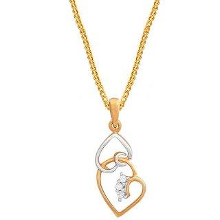 Maya Diamond Diamond Pendant MDP00008SI-JK18Y