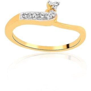 Asmi Diamond Ring ADR00253SI-JK18Y