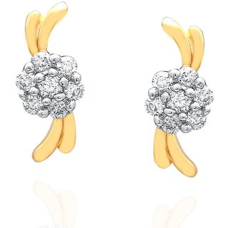 Nakshatra Diamond Earrings NERA468SI-JK18Y