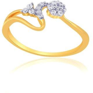 Nirvana Diamond Ring PR19781SI-JK18Y