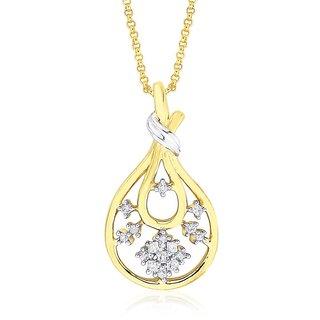 Maya Diamond Diamond Pendant GIP00242SI-JK18Y