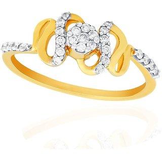 Nirvana Diamond Ring PRL054SI-JK18Y