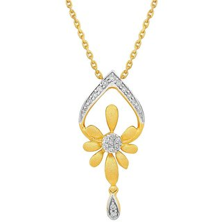 Asmi Diamond Pendant IP923SI-JK18Y