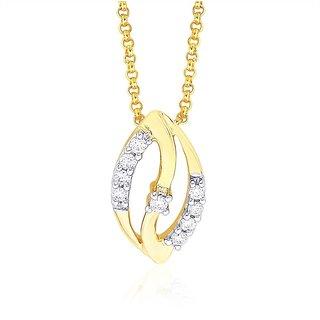 Shuddhi Diamond Pendant DDP02818SI-JK18Y