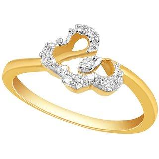 Asmi Diamond Ring PR16775SI-JK18Y