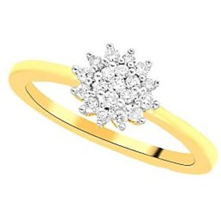 Nirvana Diamond Ring CR2960SI-JK18Y