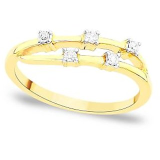Maya Diamond Diamond Ring DDR02986SI-JK18Y