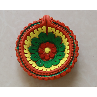 Beautiful Handmade diya For Diwali