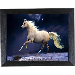 Frame Natural Colors Painting  (14 inch x 20 inch)