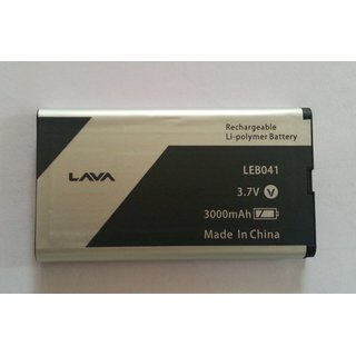 NEW HI QUALITY REPLACEMENT BATTERY FOR LAVA LEB041 / 3.7 V / 3000mAh