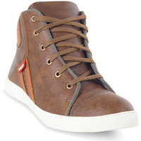 Adybird Men's Brown Lace Up Casual Shoes