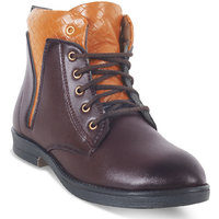 Adybird Men's Brown Lace-Up Boots