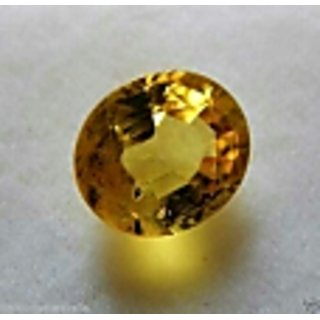 Fedput 6.15 Ratti yellow Sapphire pukhraj Stone