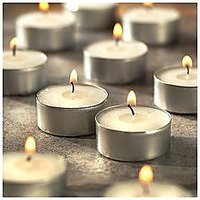 IDeals Tea Light Candle Pack Of 50