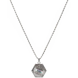 The99Jewel Silver Plated Chain Pendant - AAB0396