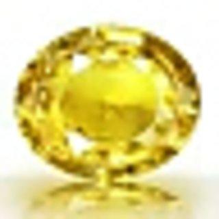 Fedput 4.15 Ratti yellow Sapphire pukhraj Stone