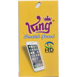 King Clear Screen Guard For Lava Atom S