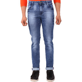 WineGlass Cotton Stretch Blue Jeans H316DK
