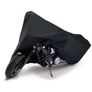 Autoplus Two Wheeler Cover For Bajaj Platina (Black)